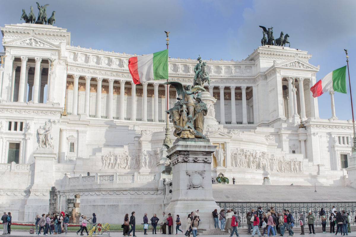 Piazza Venezia, foto di Gianclaudio Hashem Moniri