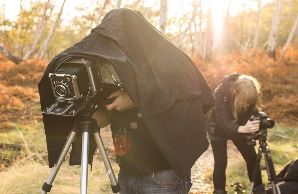 fotografia con banco ottico