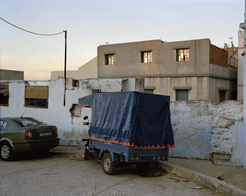 Tanger. Maroc. Novembre 2014 La colline de Sharf