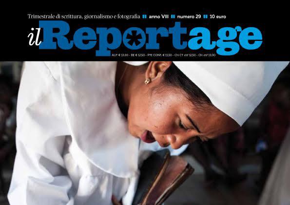dettaglio copertina il reportage