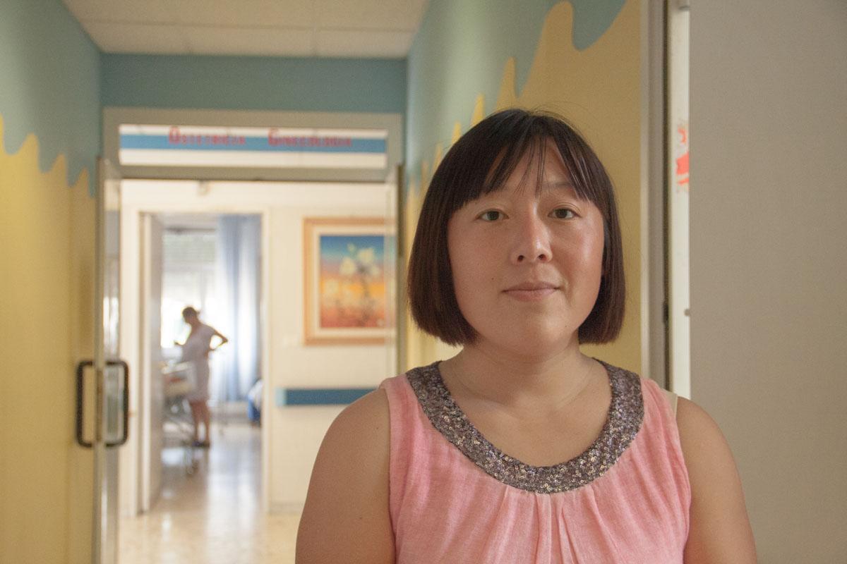 Wang Fang, foto di Elda Occhinero