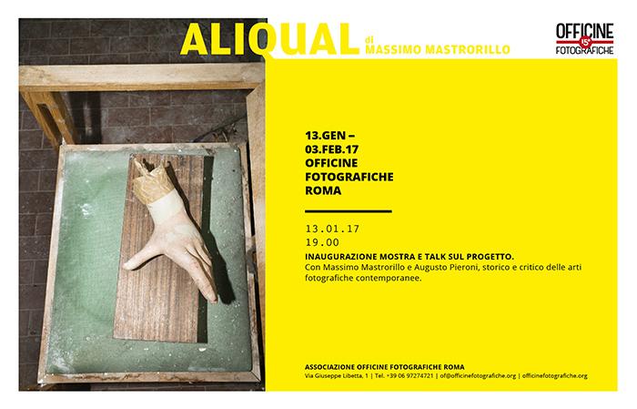 copertina mostra Aliqual-Massimo Mastrorillo
