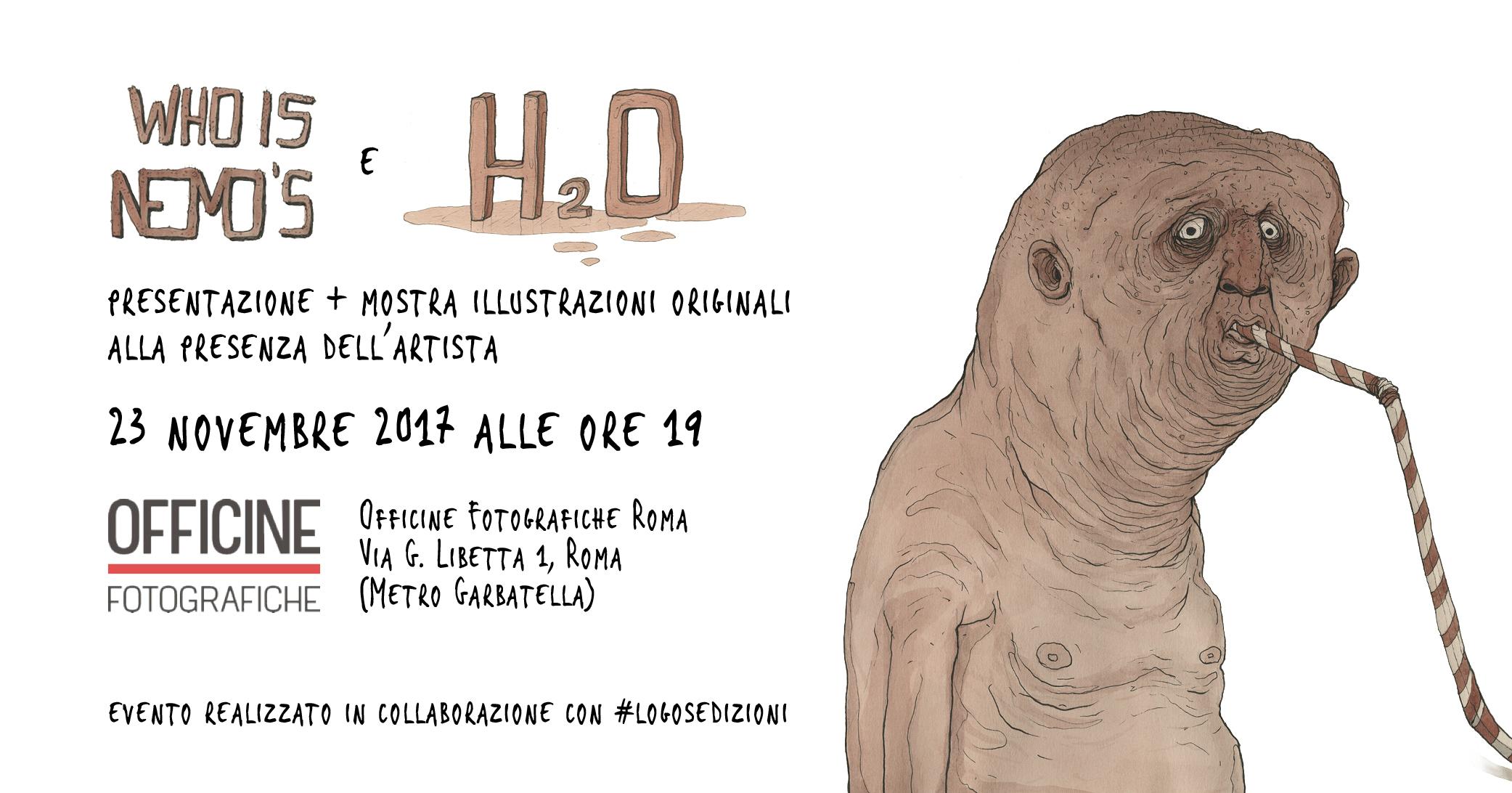 Nemo immagine evento roma novembre 2017