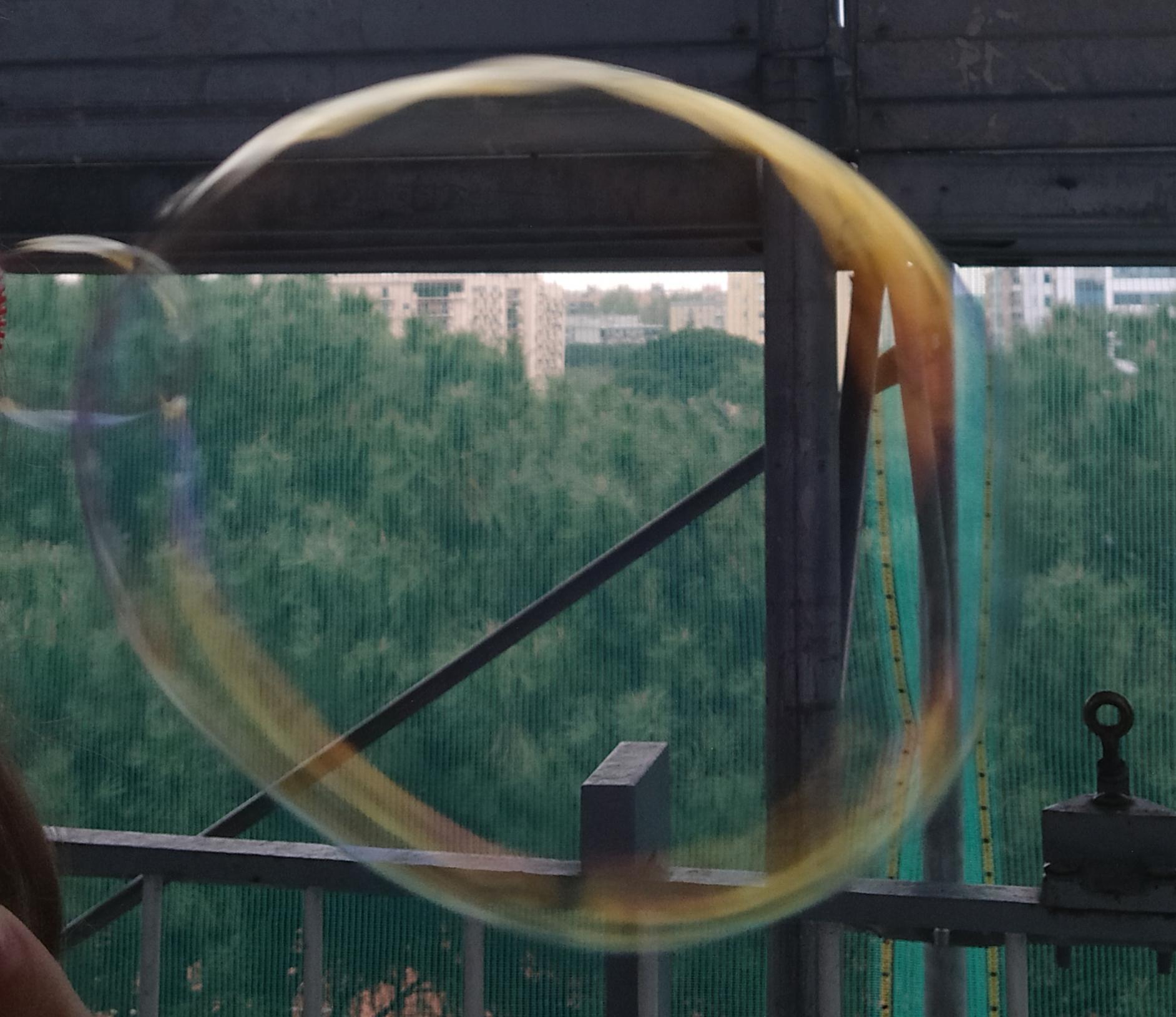 vivo in una bolla